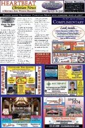 Heartbeat Christian News - June 2018 issue