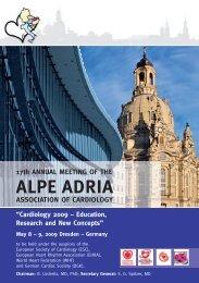 Programm Alpe Adria 2009 A5:Programm_2009 - 17th Annual ...