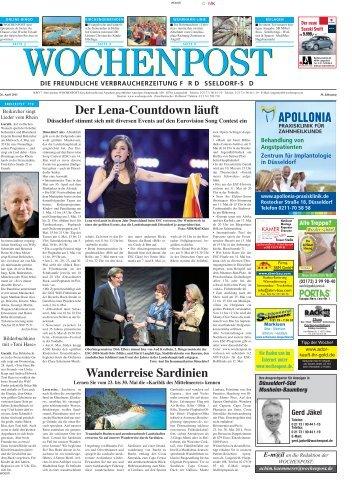 Duesseldorf Sued 17-11 - Wochenpost