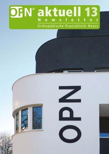 OPN - Orthopädische Praxisklinik Neuss