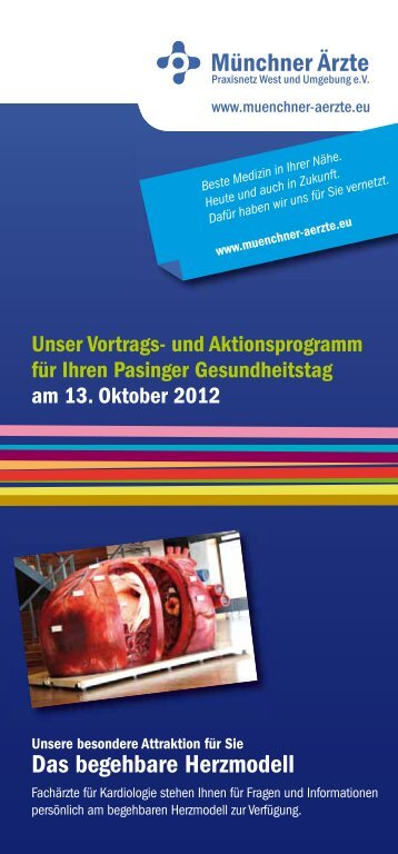 Pasinger Gesundheitstag - Münchner Ärzte