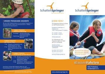KIEZ Prebelow Kinderland e.V. - Schattenspringer