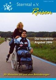 für Menschen mit und ohne Behinderungen Das komplette ... - Sterntal