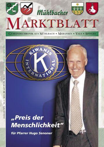Mühlbacher Marktblatt 01/2005