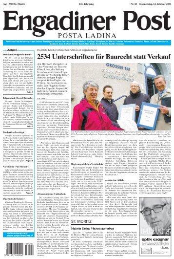 Baugesuch - Engadiner Post