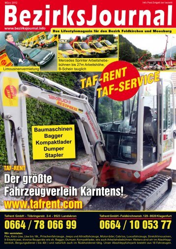 Ausgabe als PDF - Bezirksjournal