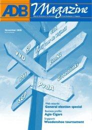 General election special - Association of Dutch Businessmen