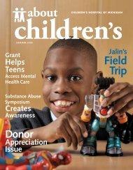 Field Trip - Children's Hospital of Michigan Foundation