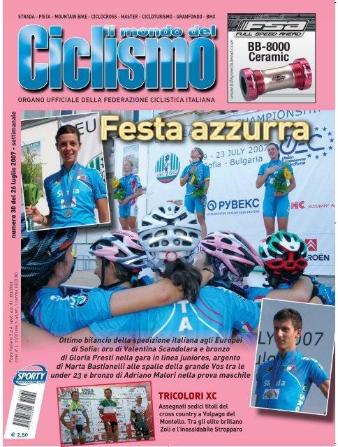 cronache delle gare - Federazione Ciclistica Italiana