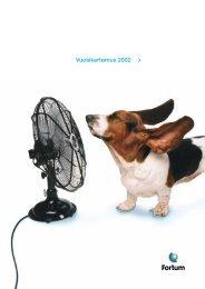 Vuosikertomus 2002 - Fortum