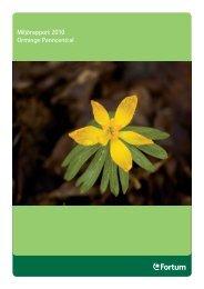 Miljörapport 2010 Orminge Panncentral - Fortum