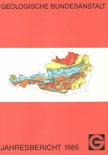 1985 - Geologische Bundesanstalt