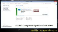 Fix HP Computer Update Error 9997 +1-800-597-1052