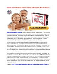 Increase Your Stamina with Hyperion Male No2 Booster
