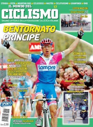 Gasparrini in volata - Federazione Ciclistica Italiana