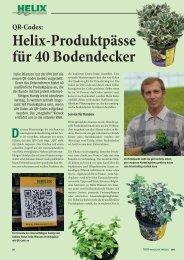 QR-Codes - Helix Pflanzen