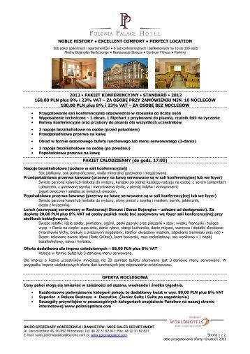 Pobierz - Polonia Palace Hotel