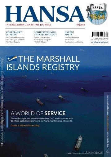 HANSA International Maritim Journal | August 2018