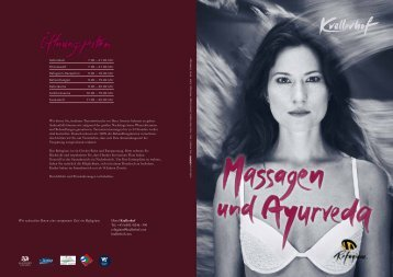 Massagen und Ayurveda