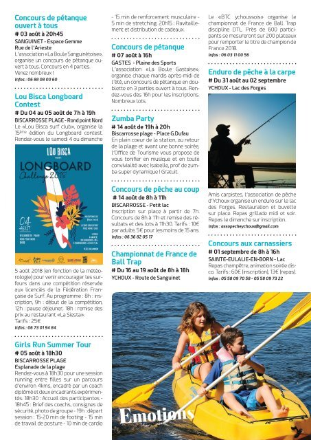 ICI MAG BISCARROSSE - AOUT 2018
