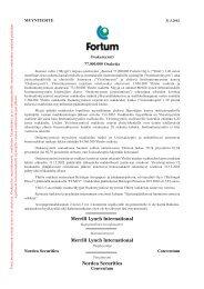 Myyntiesite 2002 - Fortum
