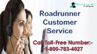 Roadrunner Customer Service +1-800-763-4027 for instant assistance from experts .
