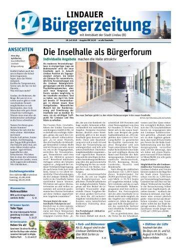 28.07.2018 Lindauer Bürgerzeitung