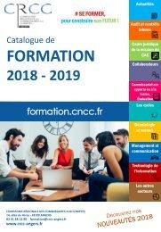 Catalogue de formation 2018-2019 CRCC ANGERS