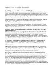 Oulujoen vesistö - kysymyksiä ja vastauksia, pdf-file, 25 - Fortum