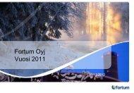 Vertailukelpoinen liikevoitto, miljoonaa euroa - Fortum