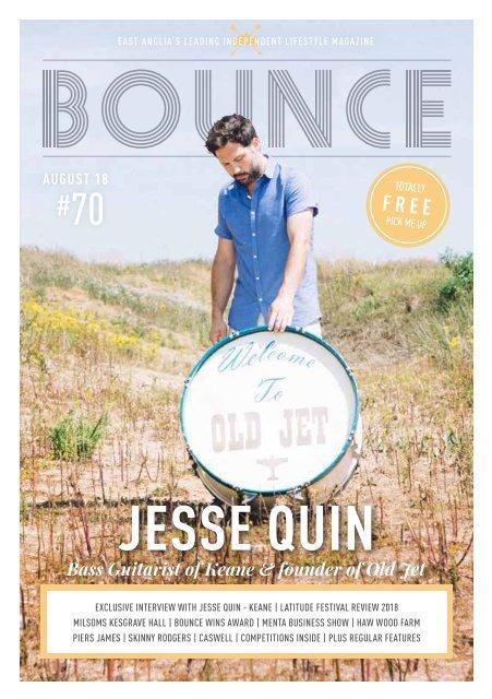 Bounce Magazine August 2018