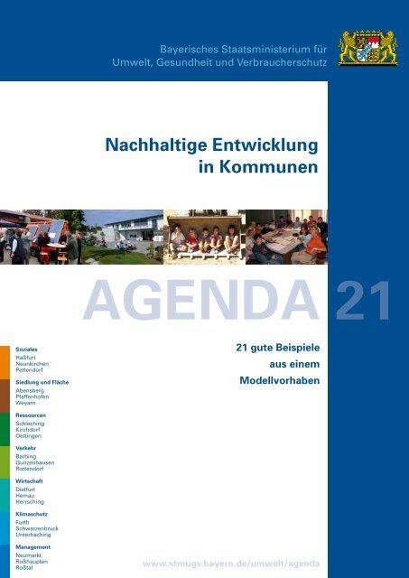 Agenda 21 - Nachhaltige Entwicklung in Kommunen - 21 gute ...