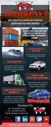 Car Shipping to Kenya from UK - Auto Kenya