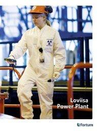 Loviisa power plant brochure (.pdf, 1.09 MB) - Fortum