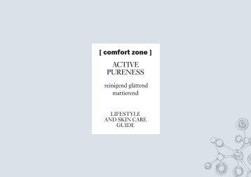 Comfortzone Produktserie Active Purness
