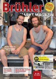 Brühler Markt Magazin Juli 2018
