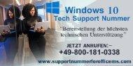 Wiebehandelt Windows 10 Tech Support Nummer 0800-181-0338 Office-Probleme