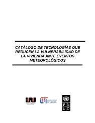 catálogo de tecnologías que reducen la vulnerabilidad