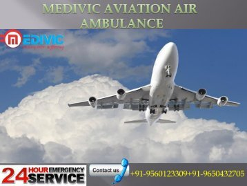 Medivic Aviation Air Ambulance Service in Jabalpur Reliable and Fast
