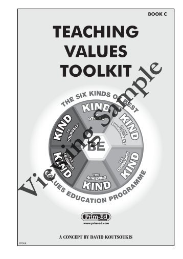 PR-2775UK Teaching Values Toolkit - Book C