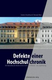 Knoblauch_Mey - Defekte einer Hochschulchronik_Inhalt_druck