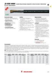 JZ-600 HMH flexible Steuerleitung, halogenfrei ... - HELUKABEL