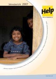 Jahresbericht 2007 - Help