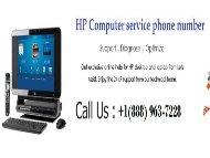 HP Computer Service Phone number +1(888) 963-7228 for HP Technical Help USA.output