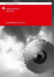 Geschäftsbericht 2011 - Kreissparkasse Saarlouis