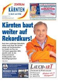 Ausgabe 02.2007 (PDF-Format, ca. 6,2 MB - Zentrum Kärnten in ...