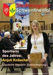 Sportlerin des Jahres: Anjuli Knäsche - beim Stadtmagazin ...