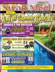 Swap Meet Magazine - Aug 2018 E-Magazine