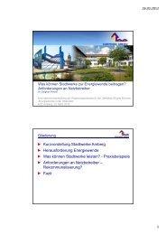 Windkraft - Regierung der Oberpfalz - Bayern