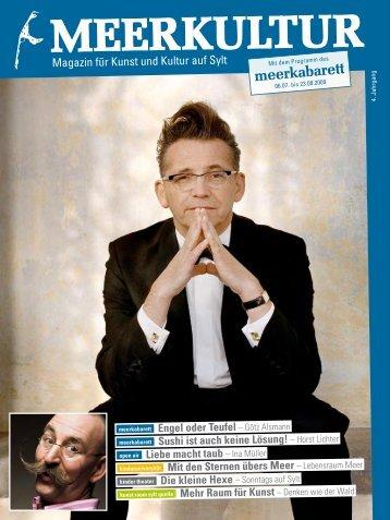 Meerkultur 2009 (PDF) - Meerkabarett